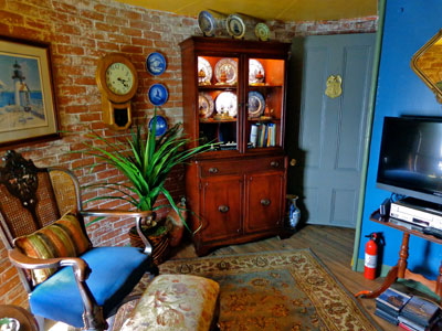 Borden Flats interior