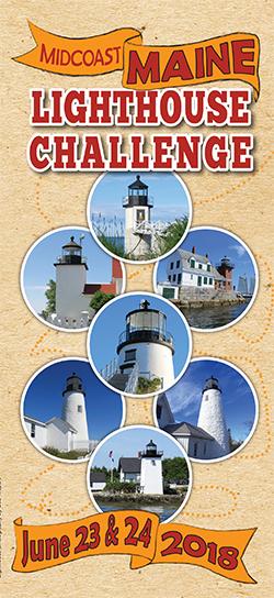 2018 Midcoast Maine Lighthouse Challenge Brochure