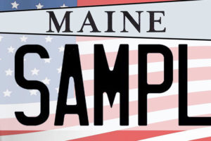 Maine lighthouse specialty plate