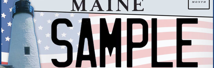 Maine Lighthouse Specialty License Plate Announced