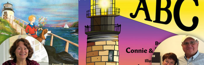 Authors of Lighthouse Children's Books will appear at Owls Head Light on September 8th