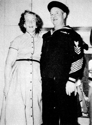 Keeper Norwood and his wife