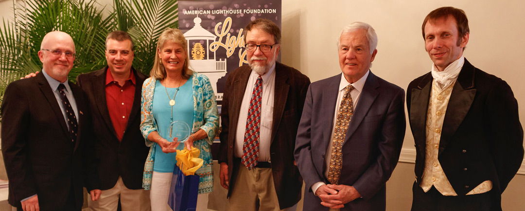 "Dolly Snow Bicknell is Honored with ALF's ""Keeper of the Light"" Award"