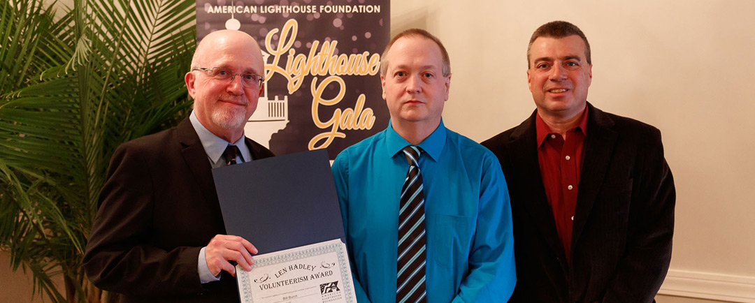 Owls Head Light's Bill Burch is Honored with ALF Volunteer Award