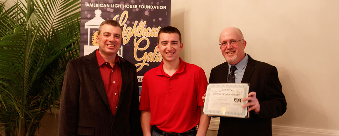 Dominic Trapani Receives ALF Volunteer Award