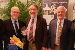 Jeremy D'Entremont ALF Keeper of the Light award recipient