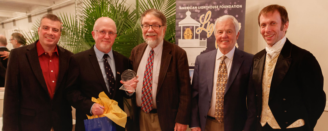 "Jeremy D'Entremont is Honored with ALF's ""Keeper of the Light"" Award"