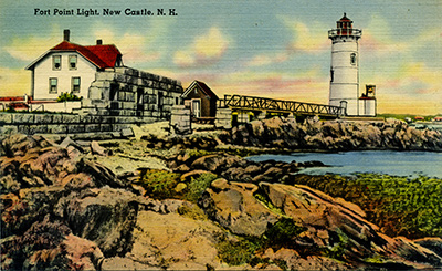 Portsmouth Harbor Light postcard
