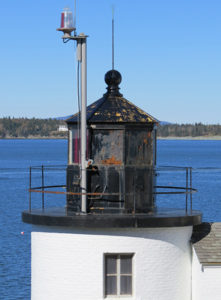 Lantern of Browns Head Lighthouse