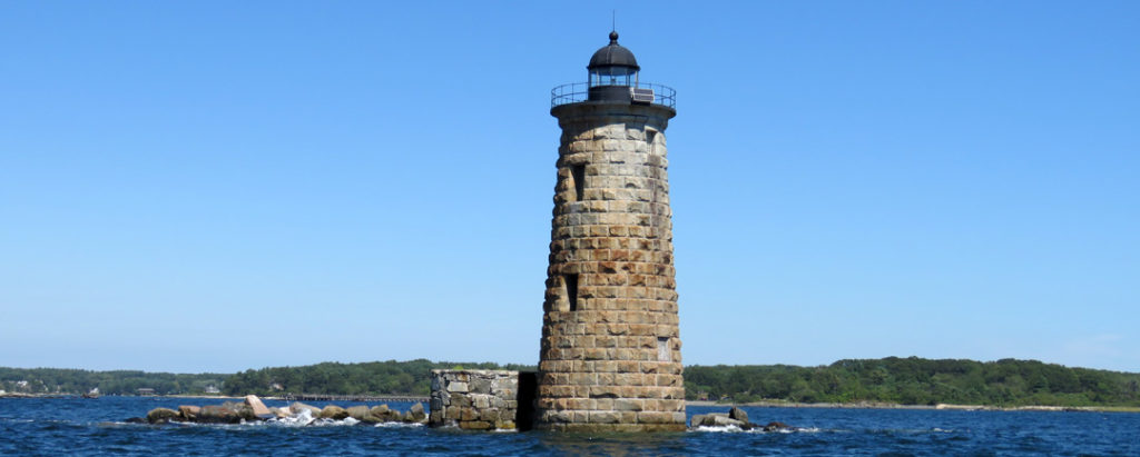 Whaleback Light in Kittery