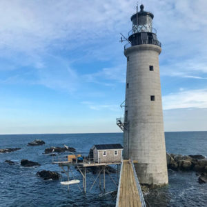 Graves Light in Boston Harbor