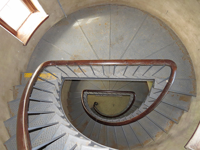 Cape Elizabeth staircase