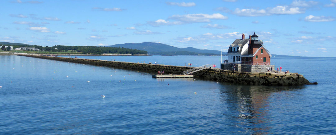Rockland Breakwater Lighthouse – A Look Back