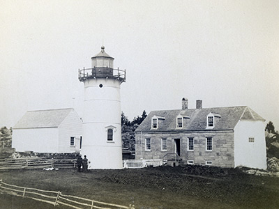 1876 lighthouse at Little River
