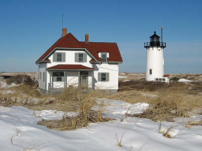 Race Point during winter
