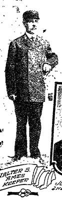 Walter S. Amee, Keeper, Whaleback Light