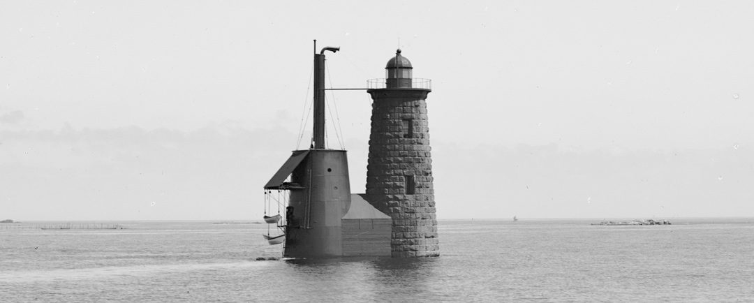 Two Men in Motor Boat Rescued by Whaleback Lightkeeper Amee
