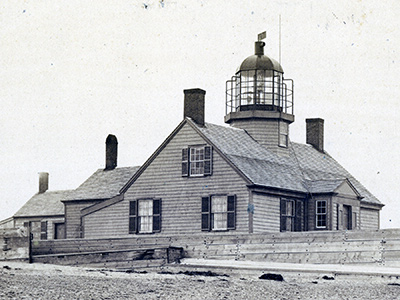 1826 Long Point Lighthouse