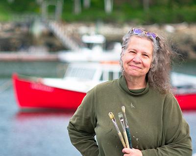 Artist Carol Douglas