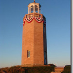 Avery Point Lighthouse was relit October 15, 2006