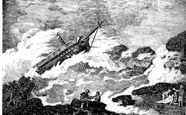 Wreck of the Nottingham Galley