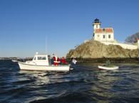 Lighthouse Santa