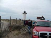 Volunteers clean up Pole Line Road