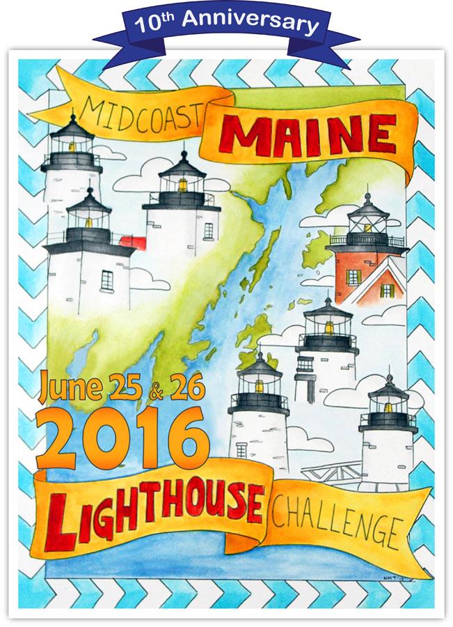 2016 Midcoast Maine Lighthouse Challenge