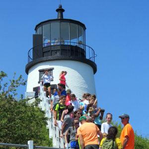 Tour a lighthouse